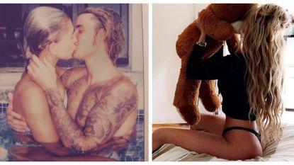 SHOWBITS. 'Temptation'-Alex pronkt met zijn vriendin en Justin Bieber is hopeloos verliefd