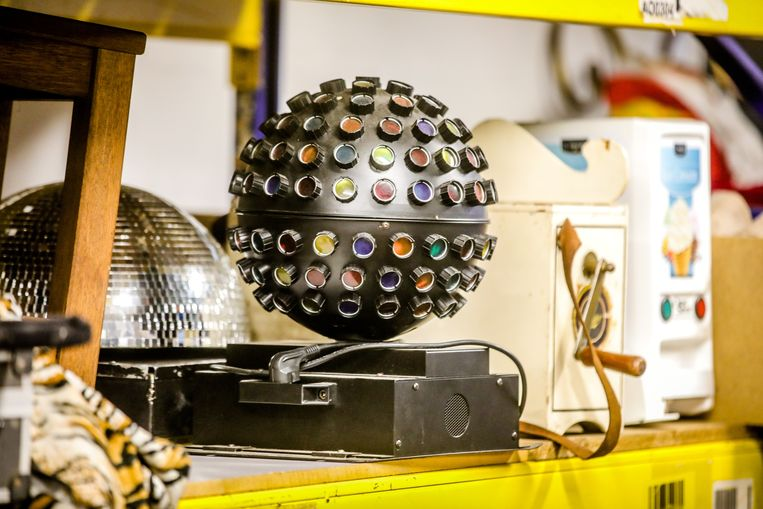 Een disco-installatie.