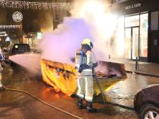 Weekend vol vernielzucht: Tientallen arrestaties, zestig branden en vuurwerkbom