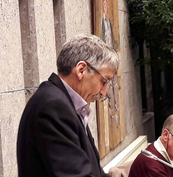 Rien Jansen van Onafhankelijk Sint Anthonis tijdens algemene beschouwingen van de gemeenteraad in Sint Anthonis.