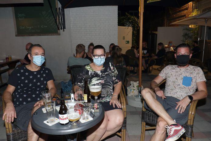 Joerie Raamaekers, Leen Verwaest en Dries Verdick.