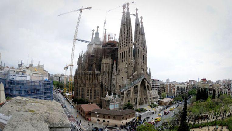 De Sagrada Familia in Barcelona. Beeld ANP
