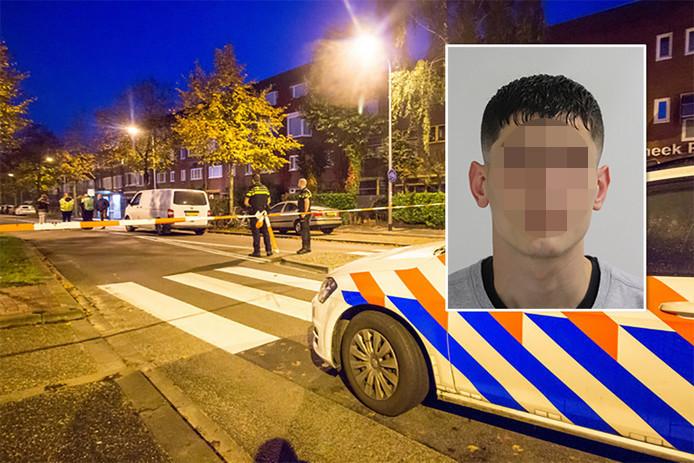 Azim A. is veroordeeld voor het neerschieten van een fietser.