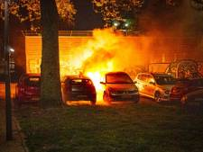 Zoveel autobranden waren er in 2020 in Friesland
