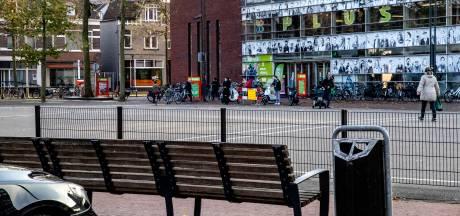Nu rustig op Beestenmarkt Deventer, maar dat ligt volgens omwonenden aan het weer