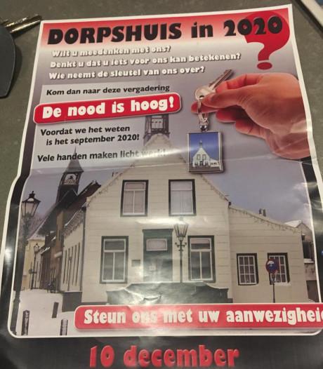Noodkreet uit Biervliet over dorpshuis