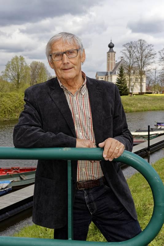 Frans den Otter uit Halder vierde vorig jaar zijn zilveren jubileum als gemeenteraadslid in Sint-Michielsgestel.