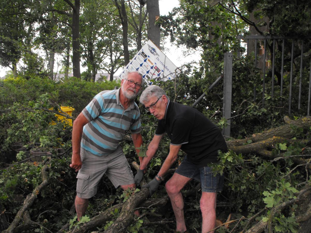 De schade in Haaskbergen na de windhoos