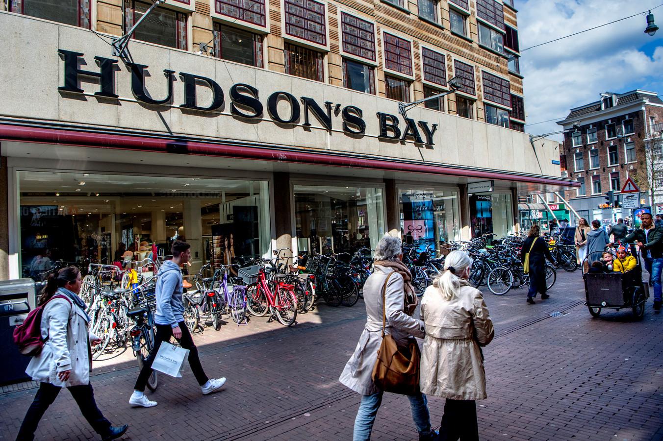 De in april 2018 geopende vestiging van Hudson's Bay in Haarlem