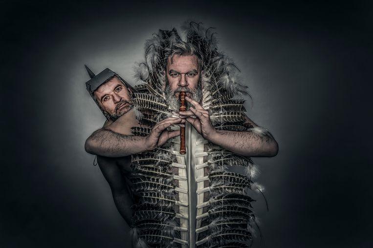 Ron Reuman en Wim Opbrouck