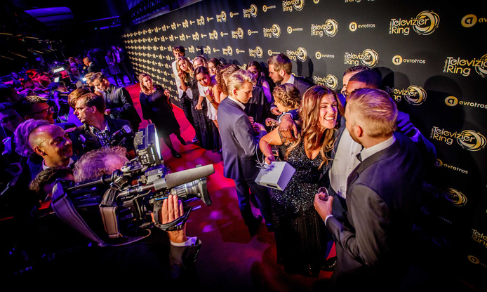 Marieke Elsinga, winnaar van de Televizier Talent Award, tijdens het 52ste Gouden Televizier-Ring Gala in de AFAS Live.