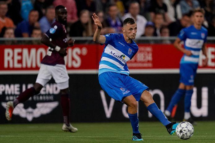 Clint Leemans deed tegen Willem II nog mee bij PEC.