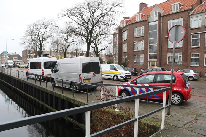 Reconstructie in woning Margaretha van Hennebergweg in Loosduinen