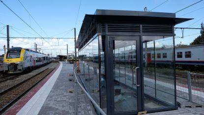Renovatie station stilaan op de rails