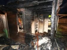 Brand in chalet op Camping Maaszicht in Kerkdriel
