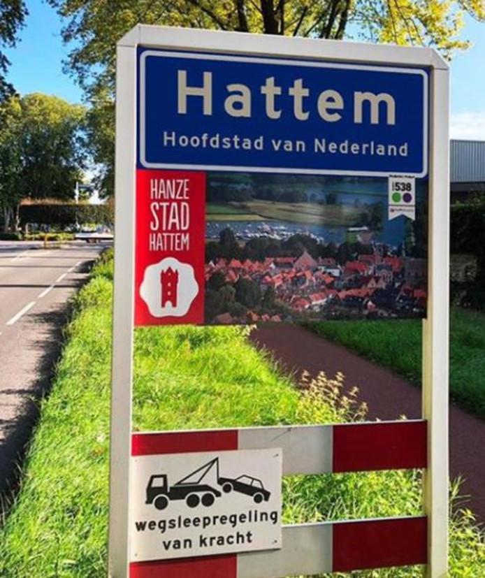 Hattem, 'Hoofdstad van Nederland'.