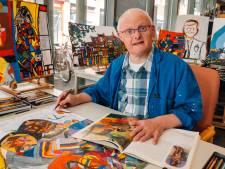 Schilder Arno breekt door: zijn werk is gewild in Amsterdam
