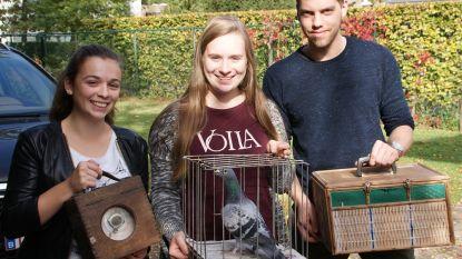 Met één duif toveren studenten weer glimlach op gezicht van dementerende man