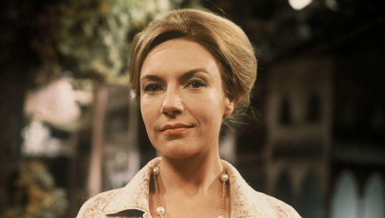 Annet Nieuwenhuijzen in 1965, het jaar waarin ze met Rouw past Elektra haar eerste Theo d'Or won. Beeld null
