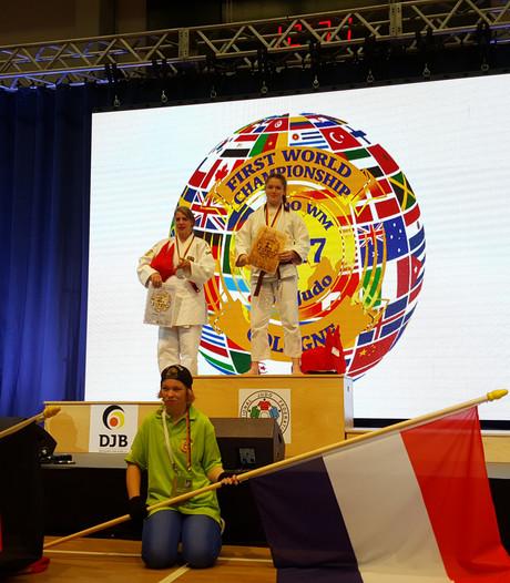Dronter judoka kampioen op WK judo voor mensen met verstandelijke beperking