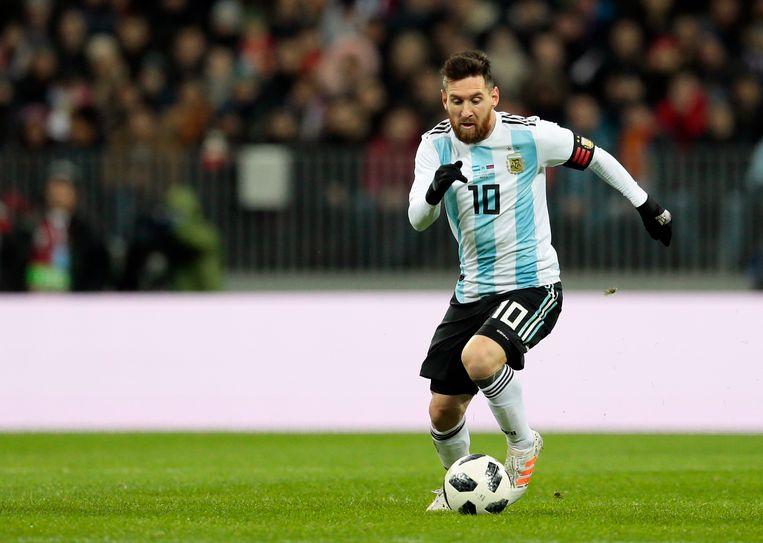 Lionel Messi Beeld AP