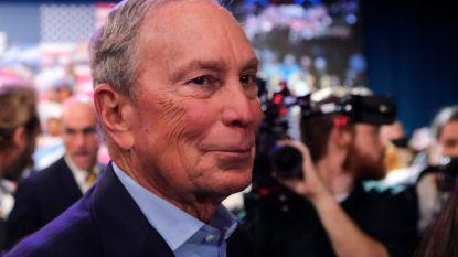 Bloomberg zet presidentscampagne van 450 miljoen dollar stop en steunt Joe Biden