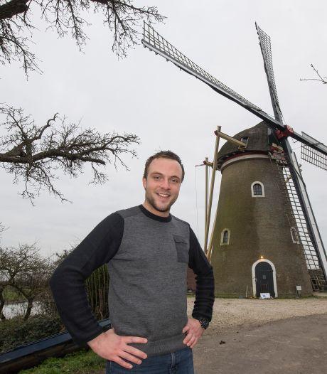 Cees is molenaar in Buren en Beesd: 'Een molen gaat pas leven als je hem deelt met mensen'