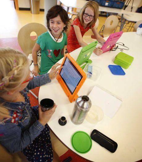 'Tablet en laptop winnen terrein in de klas'