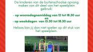 Speelplein in Watermolenstraat terug open voor publiek