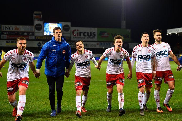 Feest bij KV Kortrijk.