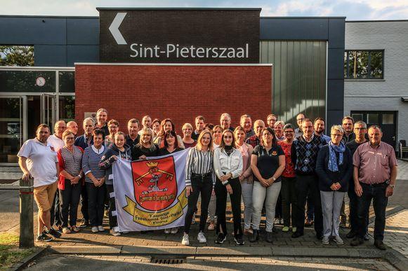 Het Koninklijk Feestcomité Sint-Pieter in Kuurne maakt zich op voor het 54ste Sint-Pietersfestival.