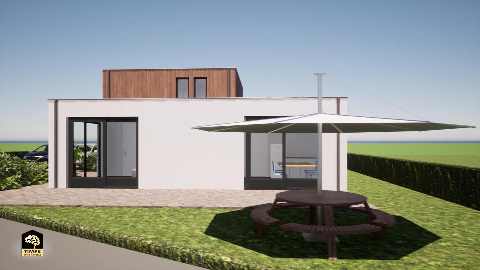 Een impressie van het te bouwen Stavoord6-huis.