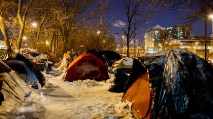 Meer dan 20 doden door polaire vortex in VS, weldoener betaalt hotel voor 70 daklozen in Chicago