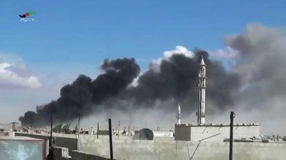 """""""Bombardementen op wapendepots in Syrië"""""""