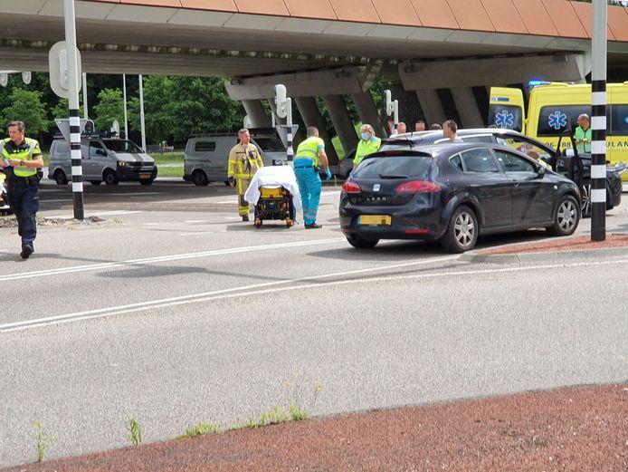 Ongeval in Harderwijk.
