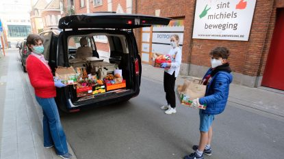 Sint-Michielsbeweging stuurt paaspakketten naar 75 gezinnen in nood