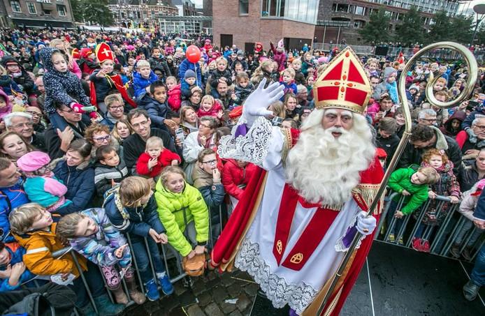 Intocht Sinterklaas in Zwolle. Foto Frans Paalman