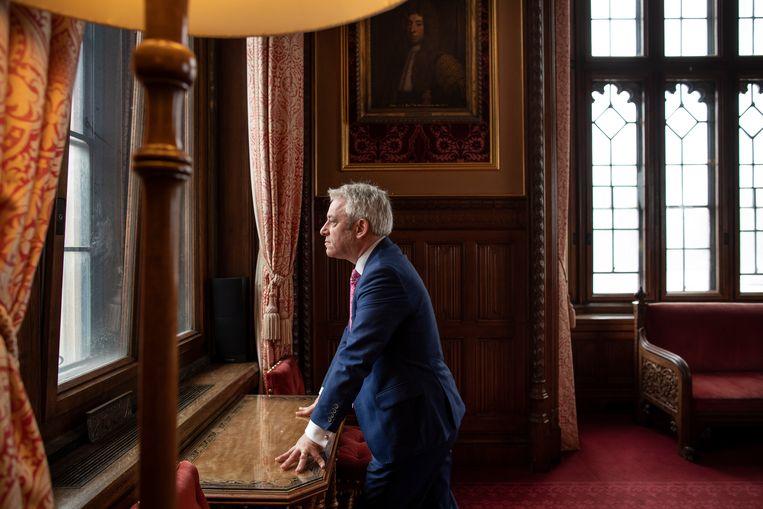 Bercows aankondiging zorgde meteen voor speculaties over wie hem gaat opvolgen, wat mogelijk een nieuw front in de Brexitoorlog wordt. Beeld Getty Images