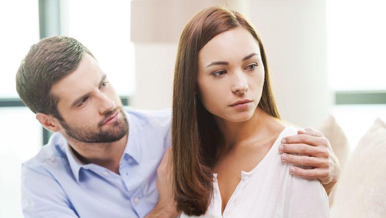 relatie met een man in scheiding