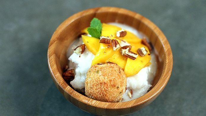 Sticky mango-kokosrijst