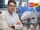 """LIVE. Van Gucht: """"Rond Kerstmis nog 500-tal besmettingen per dag"""" - Ziekenhuizen roepen Overlegcomité op om teugels niet te lossen"""