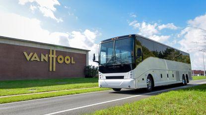 Van Hool bouwt elektrische bus voor Noord-Amerika in Macedonië