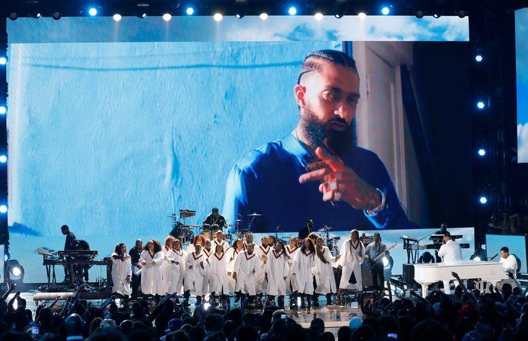 DJ Khaled en John Legend brengen een eerbetoon aan de overleden Nipsey Hussle