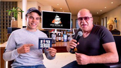 Sergio ziet optredens weer afgelast en opende dan maar een eigen webshop, samen met zoon Gilles