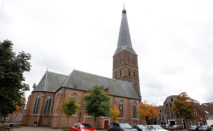 De St Janskerk in Zutphen.