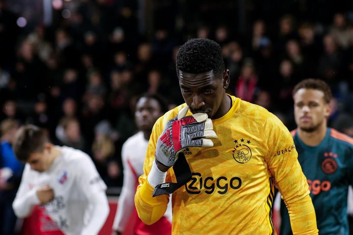 Bruno Varela beleefde een dramatische avond met Jong Ajax tegen Jong FC Utrecht (7-2 verlies).