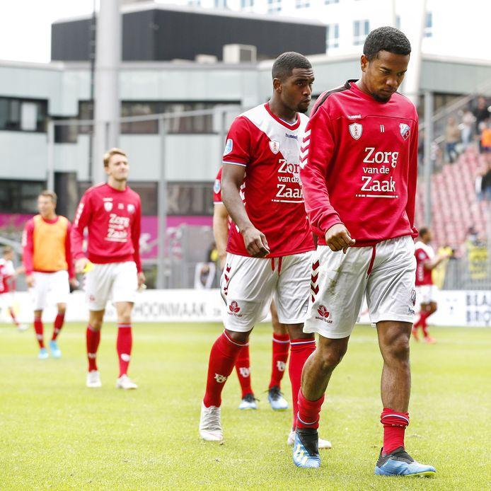 Spelers van FC Utrecht.