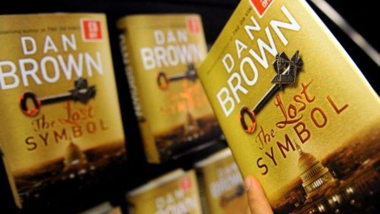Het nieuwe boek van Dan Brown, The Lost Symbol. Foto ANP Beeld