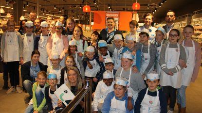 Zesdejaars ontdekken tijdens talentenstage wat werken in de supermarkt inhoudt