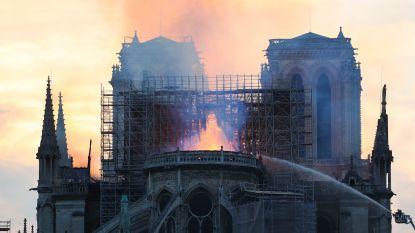 """BV's reageren op de brand van de Notre-Dame: """"Een deel van Parijs gaat verloren"""""""